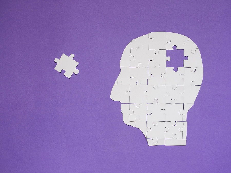 Memory loss seen as a missing piece of puzzle