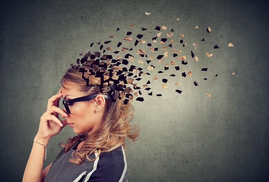 Memory Loss Visual Representation