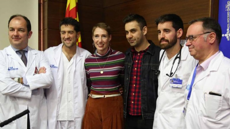 Audrey Schoeman and the doctors