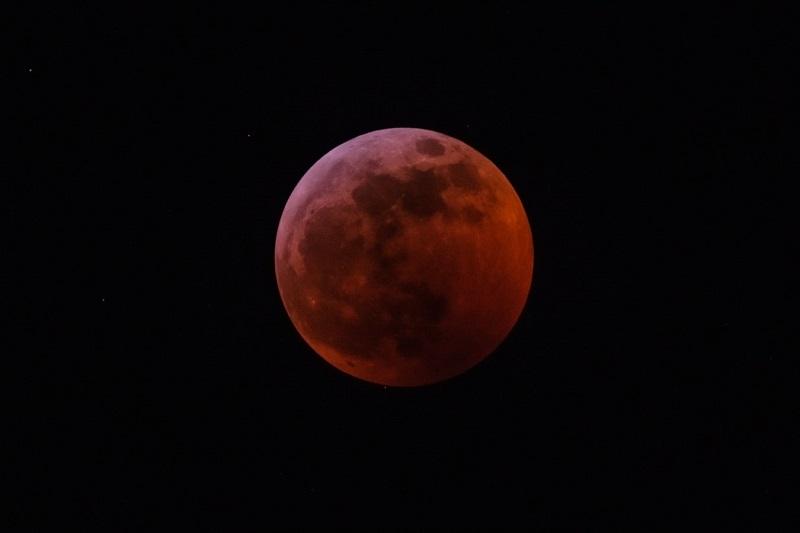 Full Wolf Moon Eclipse