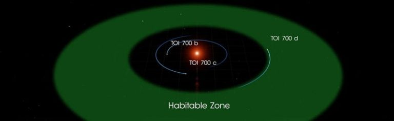 The orbits of TOI 700's three planets