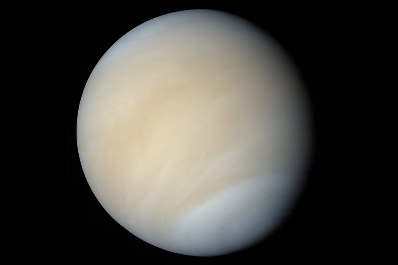 Venus the second planet from the Sun